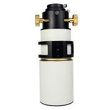 New FMC 80mm F400 Refractor Telescope OTA Single Speed Fixed Focuser + Adapter