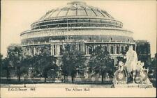 LONDON Albert Hall Postcard LONDON Stuart, F.G.O