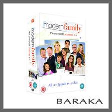 MODERN FAMILY Series Seasons 1, 2, 3, 4 & 5 DVD Box Set 1 - 5 TV Series New
