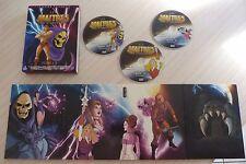 COFFRET EDITION COLLECTOR 3 DVD DIGIPACK LES MAITRES DE L'UNIVERS FILM 1 ET 2