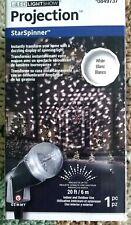 CHRISTMAS /  HOLIDAY Lighting LED Projection StarSpinner White