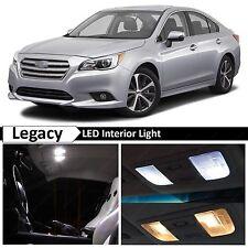 14x White Interior LED Lights Bulbs Accessories Fits 2015-2017 Subaru Legacy