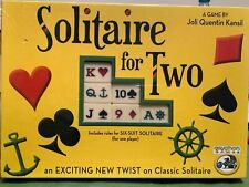 Solitaire For Two Board Game - NEW SEALED