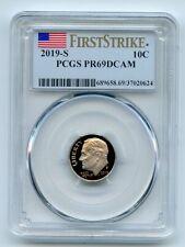 2019 S 10C Clad Roosevelt Dime PCGS PR69DCAM First Strike