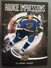 2008-09 T.J. Oshie Upper Deck Series Two Rookie Impressions