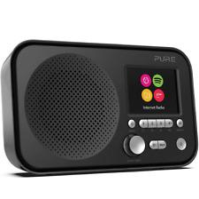 Pure Elan IR3 Portable Internet Radio Wifi Spotify Connect Streaming Dual Clock