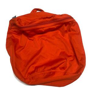 Kangacare Wet Bag Cloth Diaper BagEUC Bright Orange Trabe Bag Full Zip Washable