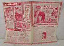 1938 Rose of the Rio Grande MOVIE POSTER ADVERTISING PRESSBOOK John Carroll Movi