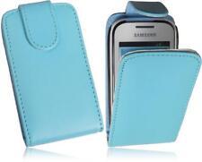 Samsung S5310 Galaxy Pocket Neo Flip Handytasche PU Leder Tasche Blau-2 Case
