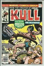 KULL THE DESTROYER #18 1976 MARVEL BARBARIAN ACTION BY THE CREATOR OF CONAN! FN+