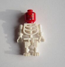 Lego 3x Squelette Blanc rouge woher zum Teufel wusstest Du das? Tête