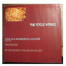 "ICICLE WORKS ""LOVE IS A WONDERFUL COLOUR"" - 12"" MAXI"