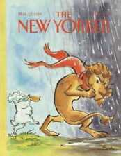 New Yorker COVER 03/13/1989 - Out Lion, In Lamb  LORENZ
