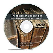94 Books, Bookbinding Binding How to Make Book Making Cover Repair Craft DVD V78
