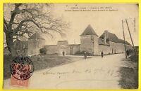 CPA Vue RARE France GRON (yonne) CHÂTEAU Résidence du Secrétaire de NAPOLÉON 1er