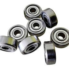 5Pcs 4mmx13mmx5mm 624Z Radial Ball Bearings 3D Printer Reprap 624ZZ Industrial
