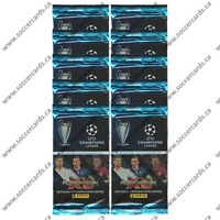 2014-15 PANINI ADRENALYN CHAMPIONS LEAGUE CARDS 10 PACKS (9 CARDS PER PACK)
