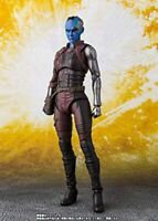 S.H.Figuarts Nebula Avengers Infinity War Action Figure ABS PVC Marvel Bandai