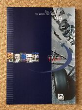 FIA Official Formula 1 One Paddock Club Magazine From 1999 + PRICE LIST