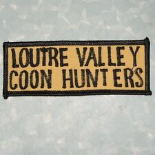 Loutre Valley Coon Hunters Patch - Missouri