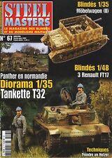 Stahl Masters Nr° 67, Gepanzerte Fahrzeuge Zur 1/48, Renault FT17, Perfekt