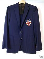 Ralph Lauren Navy Jacket with Emblem Size 38R . #9404/481 A