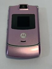 Motorola Razr V3m - Pink (Verizon) Cellular Phone Used/Pre-Owned In Great Shape