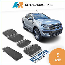 Unterfahrschutz Set aus 5 Teilen — Stahl 3mm — Ford Ranger / Mazda BT-50
