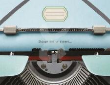 """bmelofo Portfolio """"Schreibmaschine"""": Mappe für DIN A6 Aufbewahrung"""
