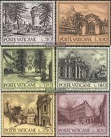 Vatikanstaat 689-694 (kompl.Ausg.) postfrisch 1976 Bauwerke