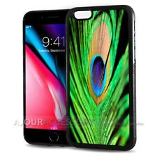 ( For iPhone SE ) Back Case Cover AJ10547 Peacock