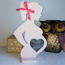 LK_ EG_ Wedding Photo Frame Wood Pregnant Women Body Home Decor Props Party Si