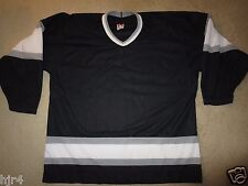 Los Angeles Kings 1989 Rewind Retro NHL CCM Black Jersey XL