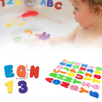 36Pcs/Set Kids Baby Bathing Learning Toys Floating Foam 10 Numbers 26 Letters