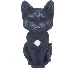 BLACK Funny CAT Sniggering FIGURINE GIFT STATUE COUNT KITTY A NEMESIS NOW