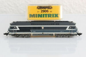 N Minitrix 2906 SNCF 72080 Diesellok analog OVP/J55