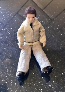 Dolls House Miniatures - 1/12th Scale Porcelain Male Doll