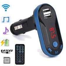 Bluetooth Wireless MP3 Player FM Transmitter Handsfree Car Kit USB SD Remote MP