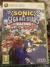 Sonic & Sega All Stars Racing With Banjo-Kazooie (Xbox 360) 'VGC' 1-4 Players