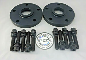 Pair 5x130 Black Hubcentric Spacers, 20mm Wide, 71.5CB, 10 Bolts PORSCHE BOXSTER