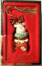 Lenox Ornament For My Deer Hinged Trinket Box China Treasures Collection 2005