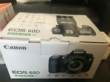 Canon EOS 60D 18.0 MP Digital SLR Camera Bundle