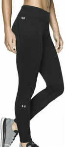 Under Armour Women's Medium Cold Gear Base 3.0 Base Layer Fitted Leggings Black