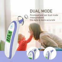 Digital Ear And Forehead Infrared Thermometer Baby Adults Digital Fever Meter
