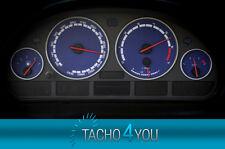 Tachoscheiben für BMW 300 kmh Tacho E39 Benzin M5 Blau 3312 Tachoscheibe km/h X5