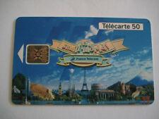PHONECARD TELECARTE PARC EURO DISNEYLAND IT'S A SMALL WORLD