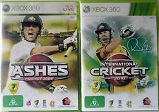 Ashes Cricket 2009 & International Cricket 2010 Microsoft Xbox 360