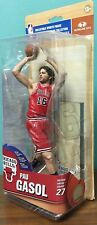 MCFARLANE PAU GASOL NBA 27 RED UNIFORM VARIATION ACTION FIGURE FREE SHIPPING
