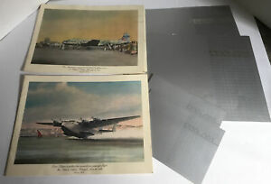 Vintage PAN AM Menus 4 First Class with Wine Cards1980's