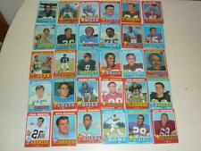 1971 Topps Football - 120 Card Lot- VG- EX Condition